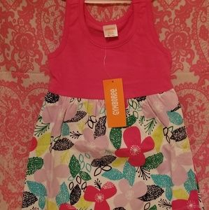 Nwt Gymboree hibiscus cotton dress 12-18